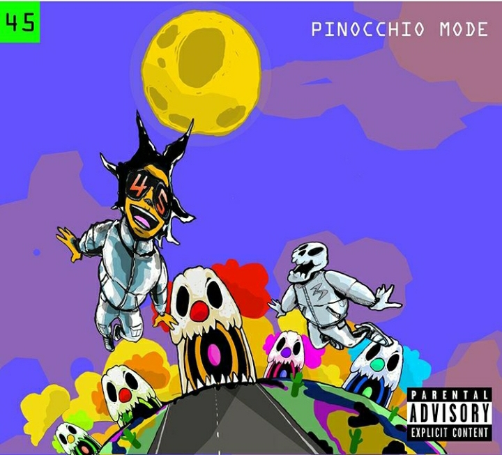 Checkout 45 Degrees' Pinocchio Mode EP Artwork, Release Date & Tracklist Featuring Okmalumkoolkat & More