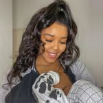 Cici Reveals Baby Dialo's Face At Last