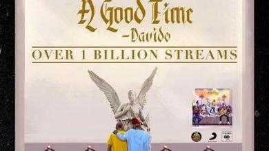 "Davido's Album ""A Good Time"" Surpasses 1 Billion Streams Image"