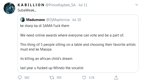 DJ Maphorisa & Prince Kaybee Beef Gets Messier Amidst Allegations of Cheating Image
