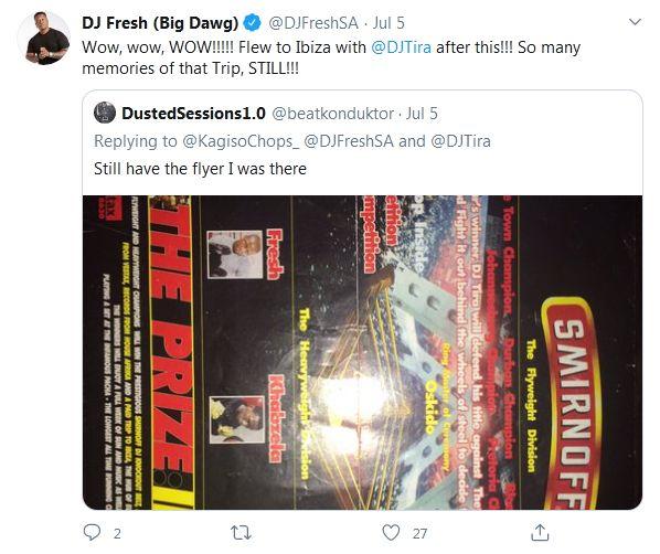 DJ Tira Says DJ Fresh Taught Him A Lot Image