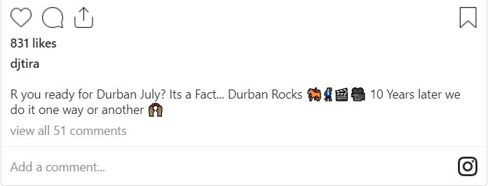 DJ Tira Shares Snippet Of Fact Durban Rocks Shoot With Moonchild Sanelly Image
