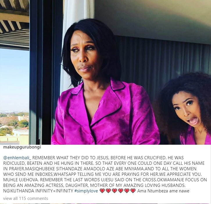 Enhle's Mother Defends Her Amid Black Coffee Drama Image