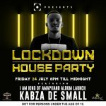 "Kabza De Small To Hold ""I Am the King Of Amapiano"" Lockdown House Party Mix, Album Launch Edition"