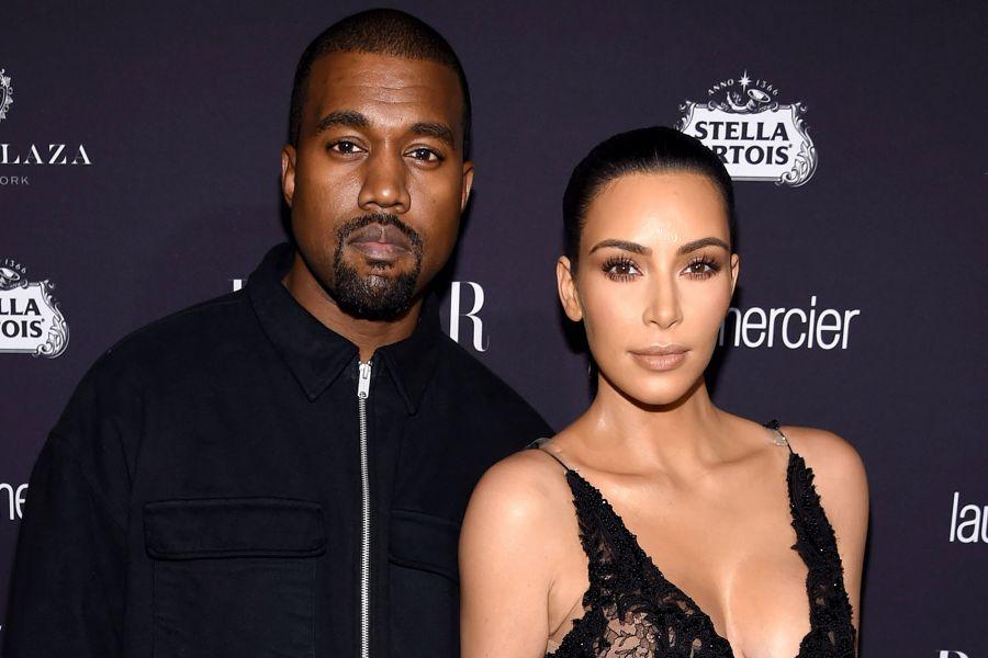 Kim Kardashian & Kanye Reunite In Wyoming