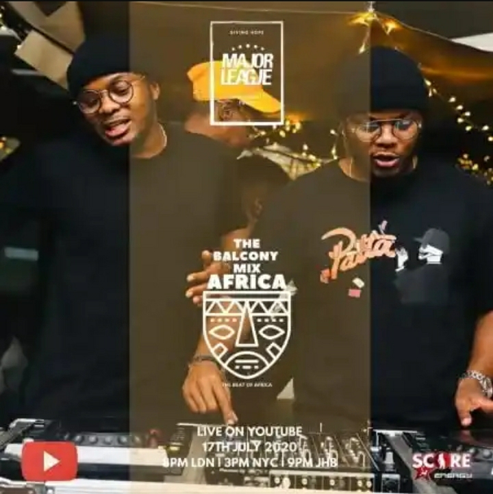 Major League DJz – Amapiano Live Balcony Mix Africa 24 Image
