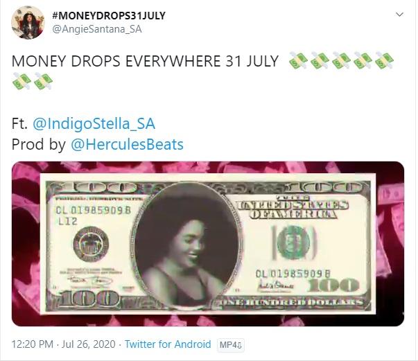 """Money"" By Angie Santana Ft. Indigo Stella Drops This Friday Image"
