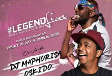 Photo of Oskido's Legend Live Goes On MtvBase, To Feature DJ Maphorisa