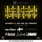 Shimza, Moozlie, Rouge, King Deetoy, Monada & Sandiso For For 31 July – 1st August Channel O Lockdown House Party