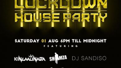 Shimza, Moozlie, Rouge, King Deetoy, Monada & Sandiso For For 31 July – 1st August Channel O Lockdown House Party Image