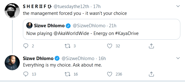 Was Sizwe Dhlomo Forced To Play AKA's Music On His Radio Show? Image