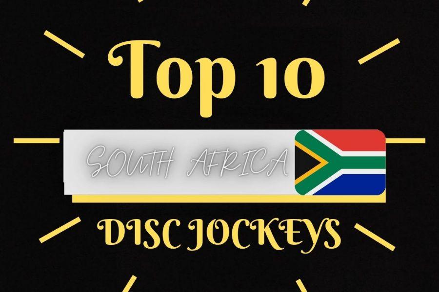 Top 10 South African Hip Hop DJs Image