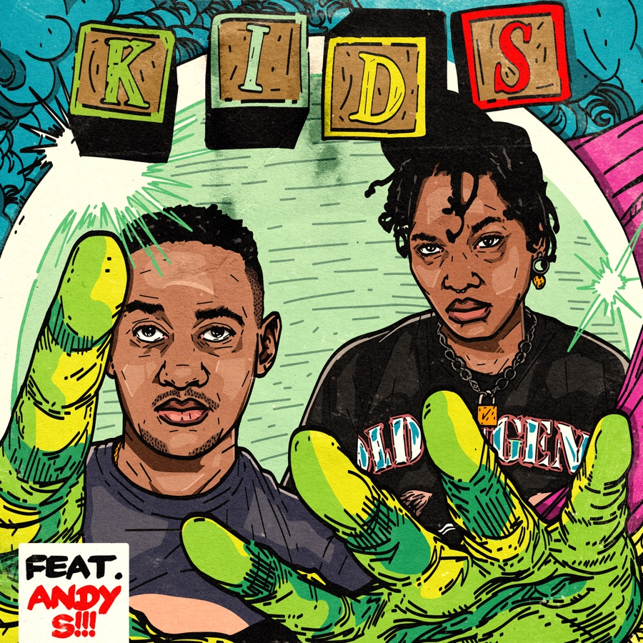 Sipho the Gift - Kids (feat. Andy S) - Single