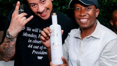 AKA's Picture of Julius Malema Holding Alcohol Ignites Controversy
