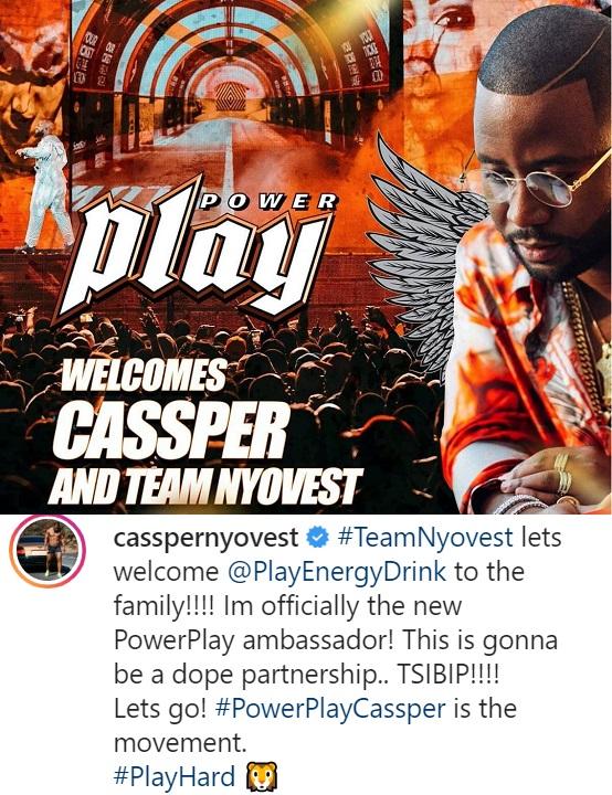 Cassper Nyovest Becomes A PowerPlay Ambassador, Gives Away Brand New GTI Image