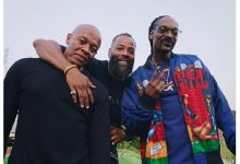Photo of Dr. Dre, Snoop Dogg And More Have An Epic Boys Union
