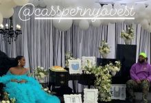 See Image Of Cassper Nyovest And Thobeka Majozi's Baby Shower That Has Fans Curious