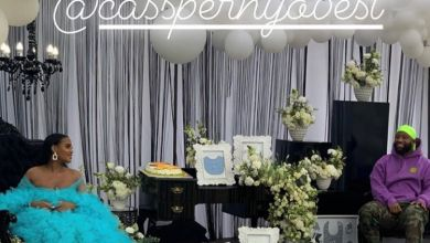 Cassper Nyovest Shaded For Baby Shower Outfit