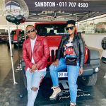 Lamiez Holworthy  Gifts Hubby Khuli Chana A New SUV