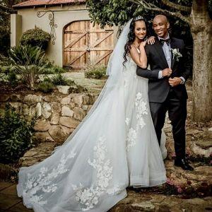 Mafikizolo's Theo Kgosinkwe Marries Long Time Girlfriend, Vourné