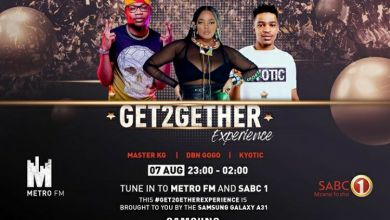 Master KG, DBN Gogo & Kyotic To Join The Next Get2gether Experience On MetroFM & SABC 1