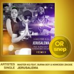 Master KG's Jerusalema Remix Featuring Burna Boy Certified Gold