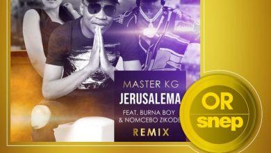 Photo of Master KG's Jerusalema Remix Featuring Burna Boy Certified Gold