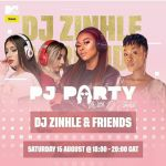 Party With DJ Zinhle To Be Honoured By Lamiez Holworthy And Pink Molly