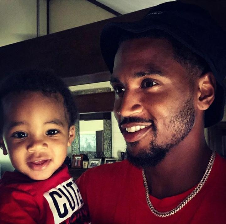 Photos: Trey Songz Gets A Massive Arm Tattoo Of His Son Noah