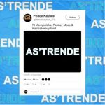 "Prince Kaybee Shares Snippet & Artwork For ""As'Trende"" Feat. Mampintsha Peekay Mzee & Kamza Heavy Point"