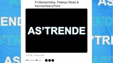 """Prince Kaybee Shares Snippet & Artwork For """"As'Trende"""" Feat. Mampintsha Peekay Mzee & Kamza Heavy Point"""