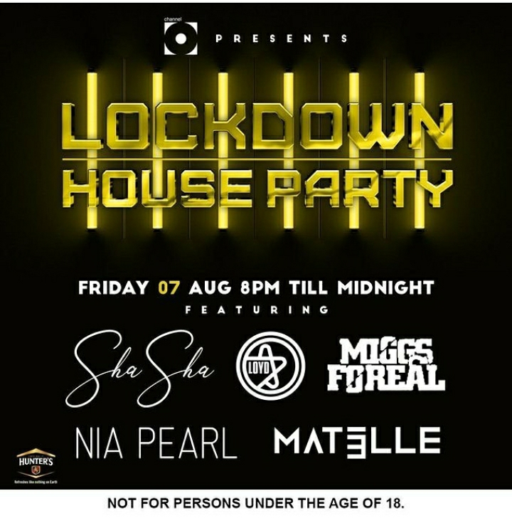 Sha Sha, Donald, Swazi Cele, Mat Elle And More To Join Friday 7th & Saturday 8th Channel O Lockdown House Party
