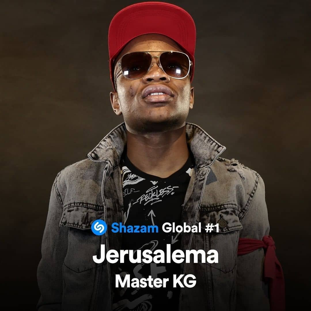Master KG's Jerusalema Feat. Nomcebo Is Now The Most Shazamed Song Worldwide