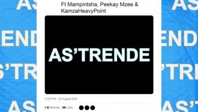 Prince kaybee Finally Drops As'Trende Feat.Mampintsha, Peekay Mzee & KamzaHeavyPoint