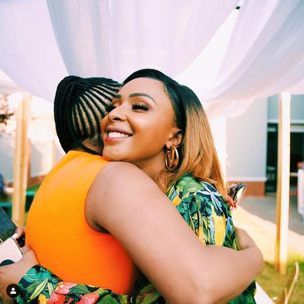 Boity's Surprise Party For Mom In Pictures