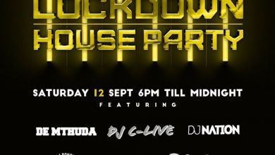 Photo of Lockdown House Party Line-up: De Mthuda, Dj C-live, Bongz, Gremlin & More