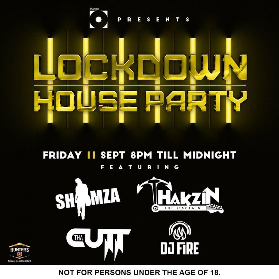 Lockdown House Party Line-up: Dj Shimza, Tha Cutt, ThakzinDJ & DJ Fire