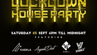 Photo of Lockdown House Party Lineup – Saturday 5th September: DJ Kabila, Wobbly, Costa Titch, PH And More