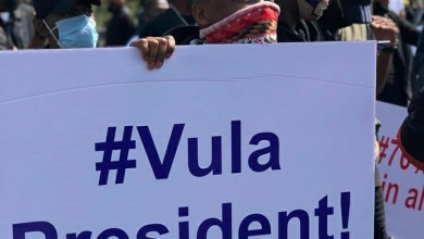 Mzansi Celebs React to the #VulaPresident Protests in Durban