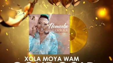 "Photo of Nomcebo Zikode's Latest Album Lead Single ""Xola Moya Wam"" Attains Gold"