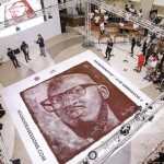 The Guinness World Record For Largest Coffee Grounds Mosaic Is An Image Of DJ Black Coffee