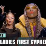 "Brandy, Erykah Badu, Teyana Taylor, H.E.R.'s Empowering ""Ladies First"" BET Hip Hop Awards Cypher"