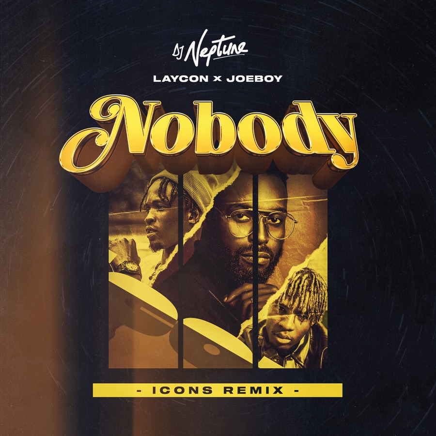 DJ Neptune, Laycon & Joeboy - Nobody (Icons Remix) - Single