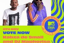 Master KG, DJ Maphorisa, Kabza De Small, Rema & Burna Boy Nominated For MTV EMA 2020