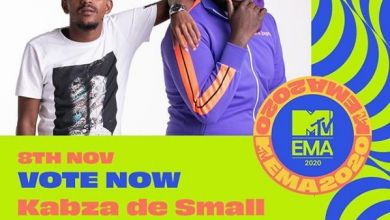 Master KG, DJ Maphorisa, Kabza De Small, Rema & Burna Boy Nominated For MTV EMA 2020