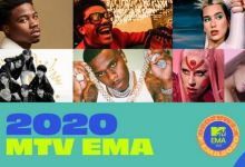 Lady Gaga Leads 2020 MTV EMA Nominations - See Full List