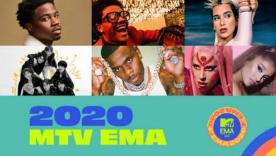 Photo of Lady Gaga Leads 2020 MTV EMA Nominations – See Full List