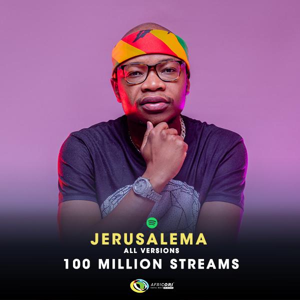 Master KG's & Nomcebo's Jerusalema Song Hits 100 Million Streams on Spotify