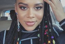 Sho Madjozi Charms Fans With New Hairstyle