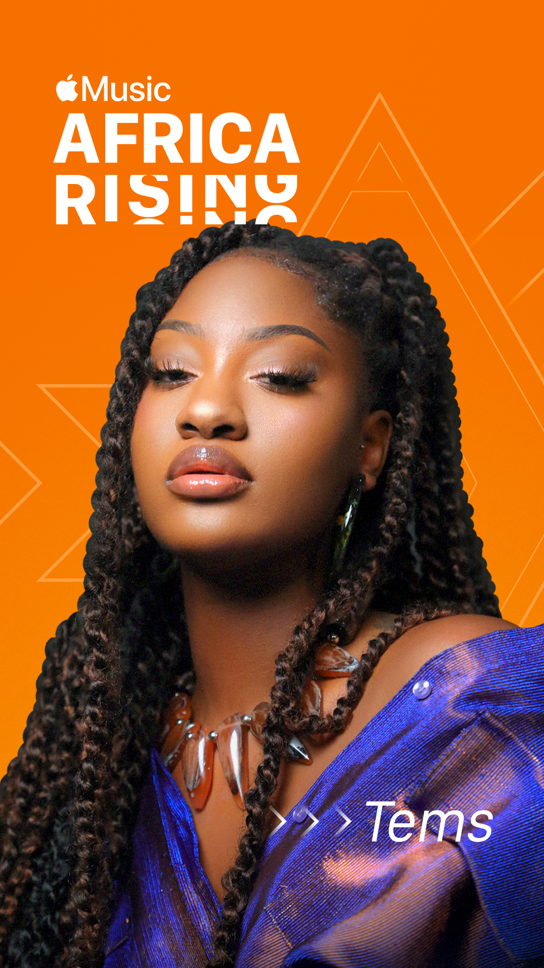 Apple Music's latest Africa Rising recipient is trailblazing Nigerian songstress and producer, Tems